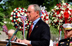 NYC Mayor Michael R. Bloomberg Royalty Free Stock Photos