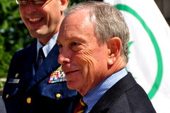NYC: Mayor Michael R. Bloomberg Royalty Free Stock Photography