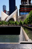NYC: 9/11 Memorial and PATH Hub Royalty Free Stock Photography