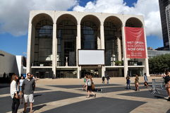 NYC: Met Opera House at Lincoln Center Royalty Free Stock Image
