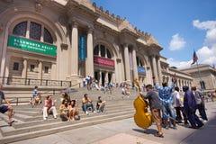 NYC Metropolitan Museum of Art Στοκ φωτογραφίες με δικαίωμα ελεύθερης χρήσης