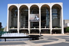 NYC: Metropolitan Opera House Stock Images