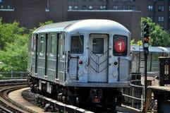 NYC: Metropolitana del MTA del sottopassaggio #1 Fotografia Stock