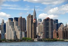 NYC: Midtown Manhattan Skyline Stock Photo