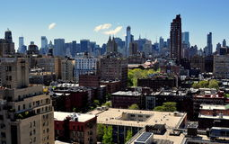 NYC: Midtown Manhattan Skyline Stock Images