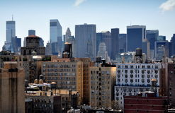 NYC: Midtown Manhattan Skyline Royalty Free Stock Photos