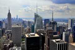 NYC: Midtown Manhattan Skyline Royalty Free Stock Image