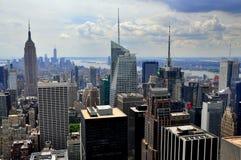 NYC: Midtown Manhattan Skyline Royalty Free Stock Image