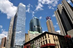 NYC: Midtown Manhattan Towers Stock Photo