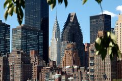 NYC: Midtown Manhattan Towers Stock Image