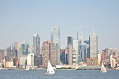 Nyc midtown skyline Royalty Free Stock Photo