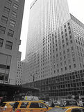 NYC - mirando para arriba El edificio de Mobil Imagen de archivo libre de regalías