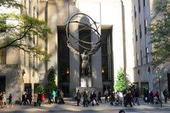 NYC, monument op de straat Royalty-vrije Stock Fotografie