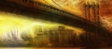 NYC mosta obraz Obraz Stock