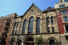 NYC:  Mount Moriah Baptist Church in Harlem Stock Photography