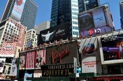 NYC: Muestras del Times Square Imagen de archivo libre de regalías