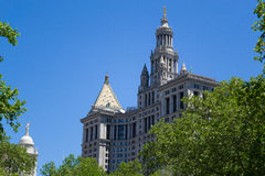NYC municipal building Stock Photography