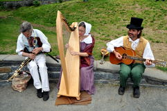 NYC:Musicians Entertaining at The Grange Royalty Free Stock Photos