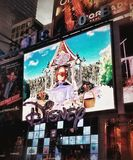 NYC-nacht Royalty-vrije Stock Afbeeldingen