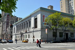 NYC: New York Historical Society Museum. The distinguished New York Historical Society museum at West 77th Street and Central Park West houses a vast collection Royalty Free Stock Images