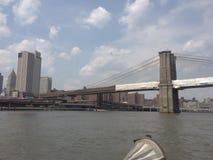 Nyc New York newyork bridge Royalty Free Stock Photo