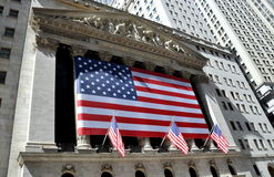 NYC: The New York Stock Exchange Royalty Free Stock Photography