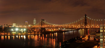 NYC by night Stock Photography