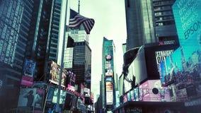 NYC night. New York city Royalty Free Stock Photos
