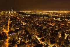 NYC night view Stock Photo