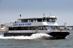 NYC: NY Waterway Ferry Boat Royalty Free Stock Image