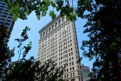 NYC: O edifício de Flatiron Fotografia de Stock Royalty Free