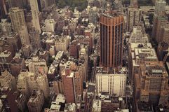 NYC od above obraz royalty free