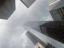 NYC - olhando acima Imagem de Stock Royalty Free