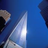 NYC - olhando acima Foto de Stock Royalty Free