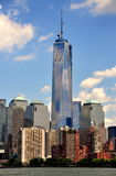 NYC:  The One World Trade Center Tower Royalty Free Stock Photography