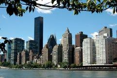 NYC: Orizzonte del lato est Fotografia Stock Libera da Diritti