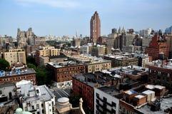 NYC: Panorama superiore della costa Ovest Immagine Stock