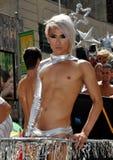 NYC: Parada do orgulho de 2012 homossexual Imagem de Stock Royalty Free