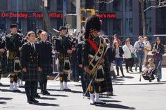 2015 NYC Parade 5 van de Geruit Schots wollen stofdag Royalty-vrije Stock Fotografie