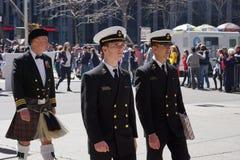 2015 NYC Parade 9 van de Geruit Schots wollen stofdag Royalty-vrije Stock Fotografie