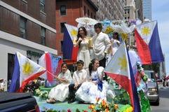 NYC: Parata di festa dell'indipendenza delle Filippine Fotografie Stock Libere da Diritti