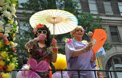 NYC: Parata di orgoglio dei 2010 omosessuali immagine stock libera da diritti