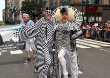 NYC: Parata di orgoglio dei 2012 omosessuali Immagine Stock