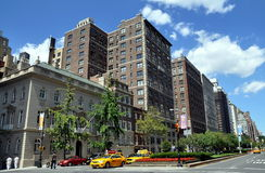 NYC: Park Avenue Apartment Buildings Royalty Free Stock Images