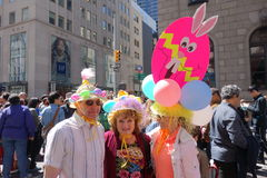 2014 NYC Pasen Parade 28 Stock Fotografie