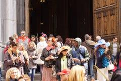 2015 NYC Pasen Parade 120 Stock Foto's