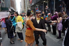 2015 NYC Pasen Parade & Bonnetfestival 50 Royalty-vrije Stock Afbeelding