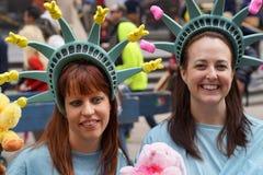 2015 NYC Pasen Parade & Bonnetfestival 15 Stock Foto's
