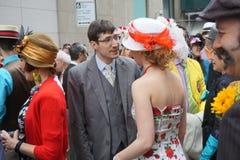 2015 NYC Pasen Parade & Bonnetfestival 28 Stock Foto
