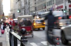 NYC Pedicabs Стоковая Фотография RF